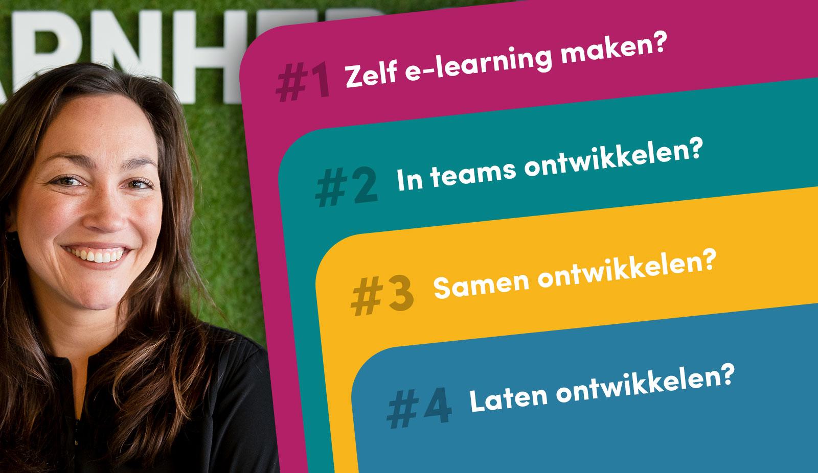 E-learning is booming, benieuwd waar bedrijven e-learning voor inzetten?!