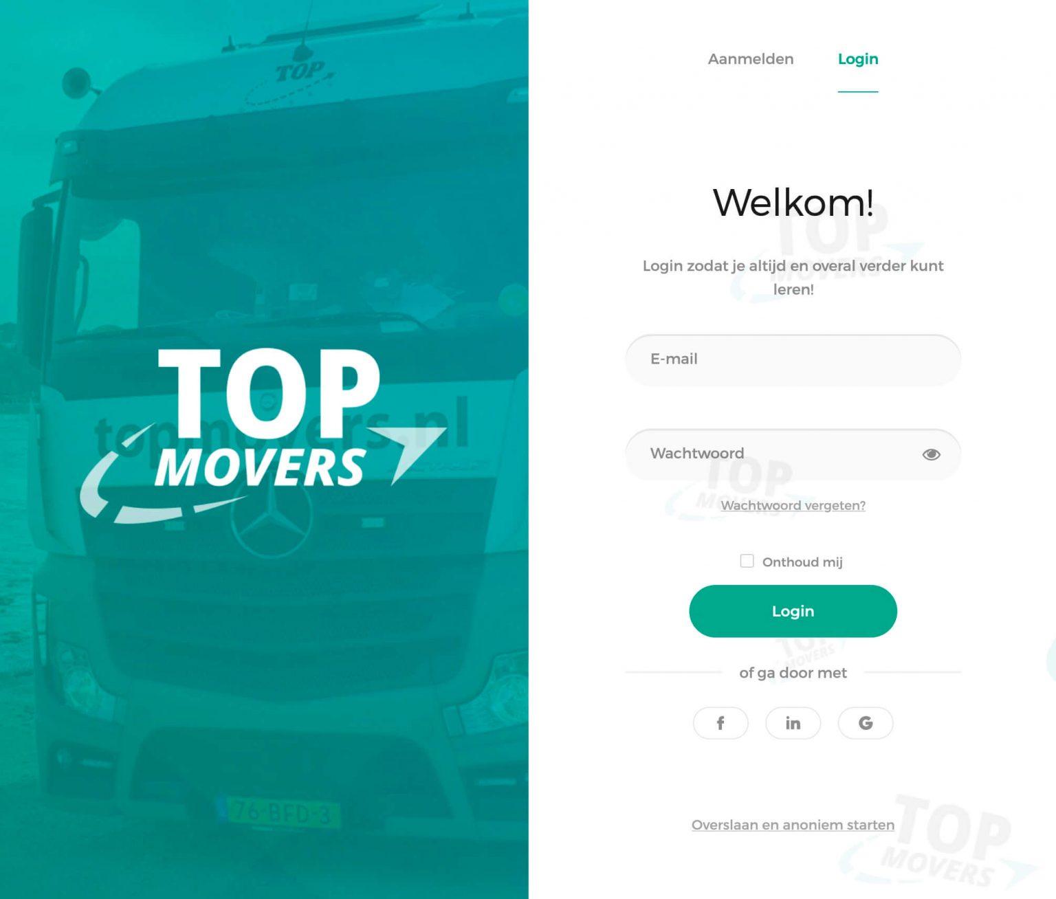 Het HERO concept voor Top Movers